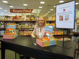 Book signing, Barnes & Noble Booksellers, Manchester, NH